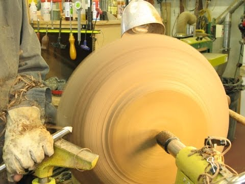 Band-sawing a Bowl Blank: Woodturning