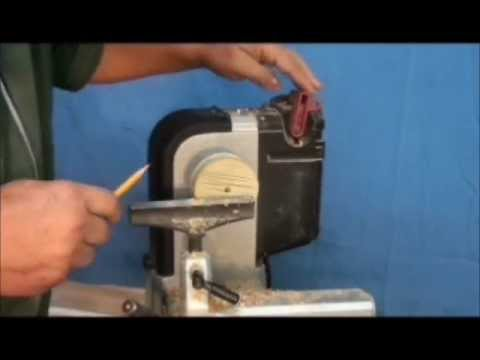 WOODTURNING:  Mounting wood on the lathe  (1 OF 2)