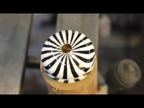 Sanding Acrylic: On the Lathe