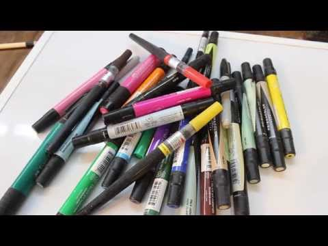 Coloring Markers for the Wood Lathe:    Woodturning with Sam