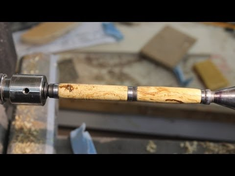 WET SANDING A PEN with CA Glue