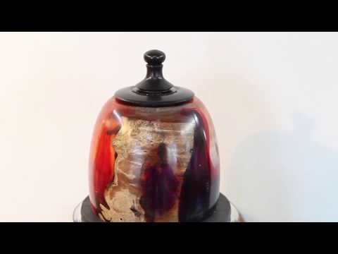 Put a lid on it:  Woodturning with Sam Angelo