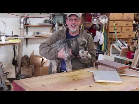 Woodturner\'s Workbench; Part 4 Assembling the Shoulder Vise Sam Angelo Wyomingwoodturner