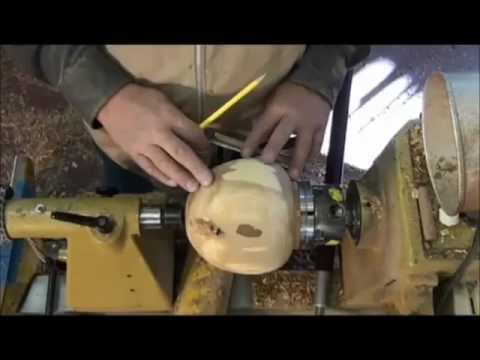 Part 4 of 5,  HOLLOWING-: Turning the  OUTSIDE