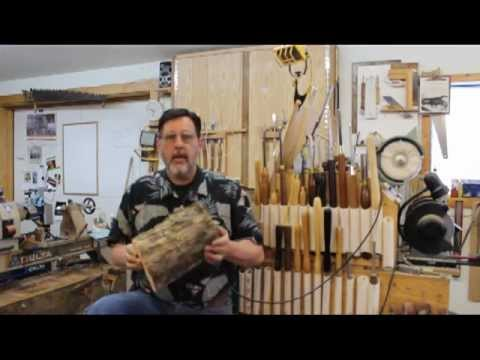 Part 3 of 5,  Hollowing Tools: Woodturning