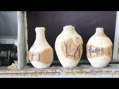 Woodturning Design and the Weed pot