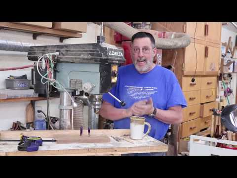 Pen Turning on the Cheap   Sam Angelo the Wyomingwoodturning