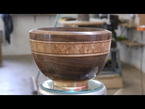 Layered Bowl  by Sam Angelo~Wyomingwoodturner