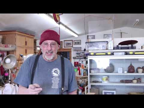 WOODTURNERS WORKBENCH:  Part 3 DOVETAILING the Corners  Sam Angelo the  Wyomingwoodturner