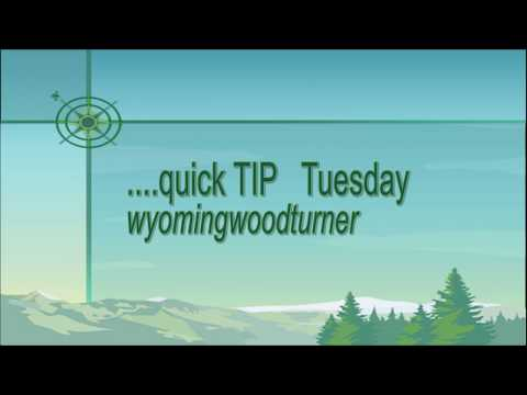 Simple Chucking Method for the wood lathe: Quick Tip Tuesday-wyomingwoodturner