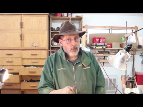 Crossing Over with....,   Parting tools:    woodturning with Sam Angelo