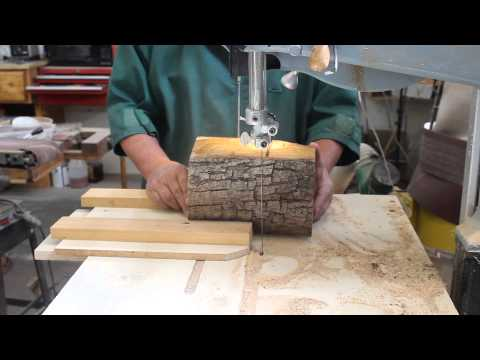 How Best to Use a Small Olive Log: Woodturning