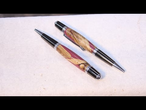 Pen made  from WOOD and Resin