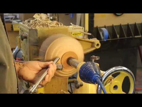 Part 2: Milling and shaping a Madrone Burl