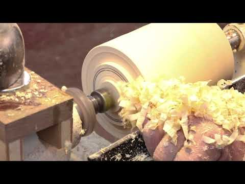 Hollow Form Basics: Part 1  ~Shaping  the outside~  Sam Angelo Wyomingwoodturner