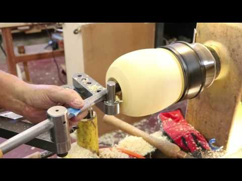 Demonstrating the Hollowing Tool STABILIZER: wyomingwoodturner