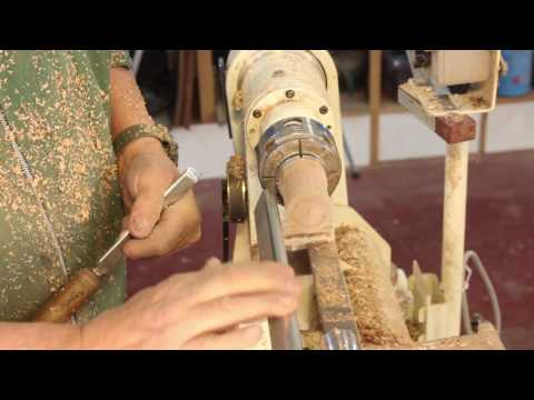Crossing Over  with the Skew Chisel:  Woodturning by Sam Angelo