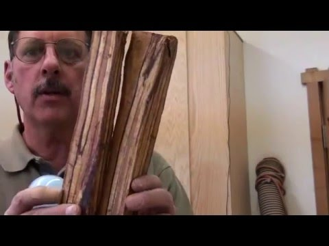 KILN FOR DRYING WOOD:WOODTURNING