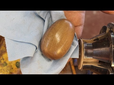 Turning an Egg with the Skew Chisel