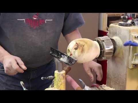 Hollow Form Basics: Part 2 ~~ Hollowing the inside    Sam Angelo Wyomingwoodturner