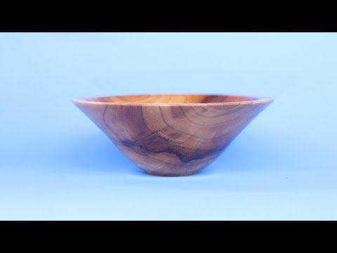 Unfinished business:  Turning a  Small Cherry Bowl   with Sam Angelo